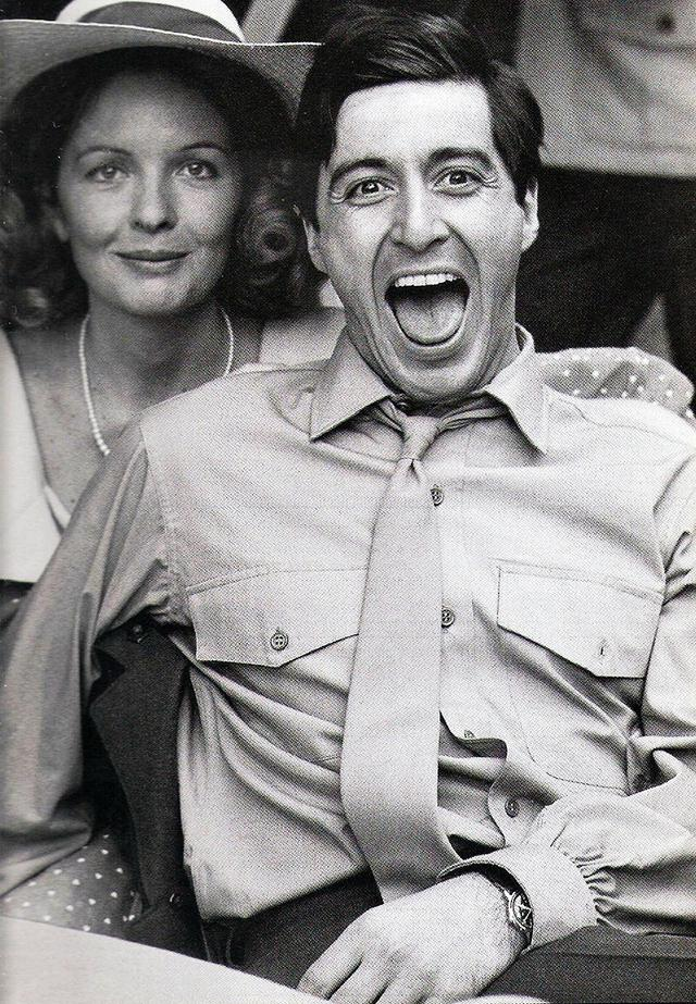 Diane Keaton and Al Pacino (The Godfather – 1972)