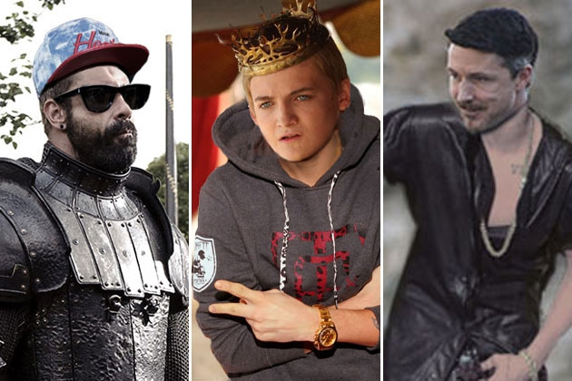 See the Baddies from 'Game of Thrones' Dressed as Justin Bieber