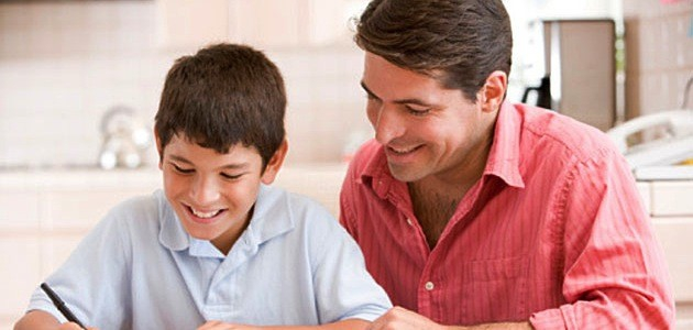 Dads can trick kids into thinking they know everything -- even algebra