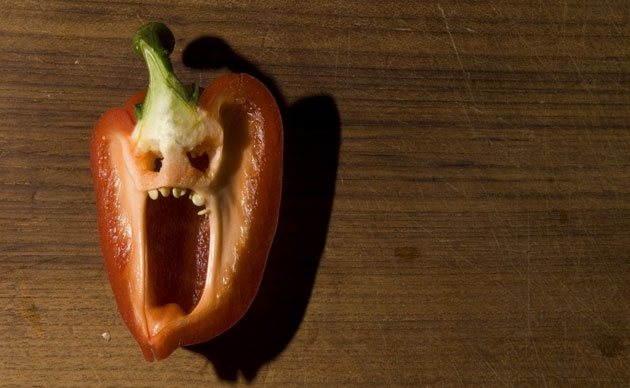 Genuinely too scary to eat…
