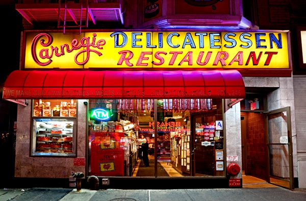 Atmospheric Photos Of New York's Storefronts At Night
