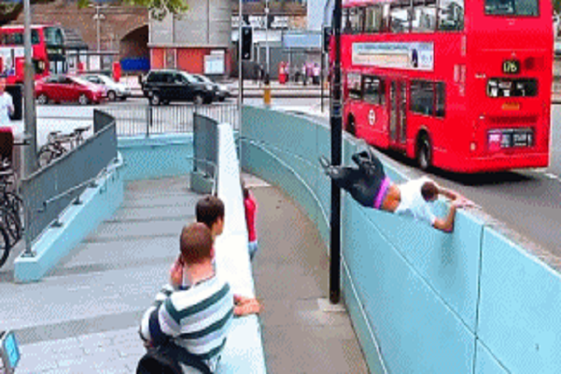 11 GIFs That Prove Parkour Is a Really Bad Idea