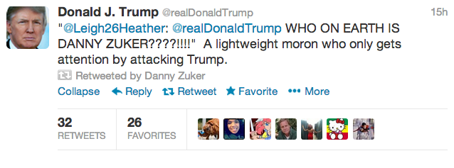 Donald Trump And A 'Modern Family' Writer Engage In Epic Twitter Feud