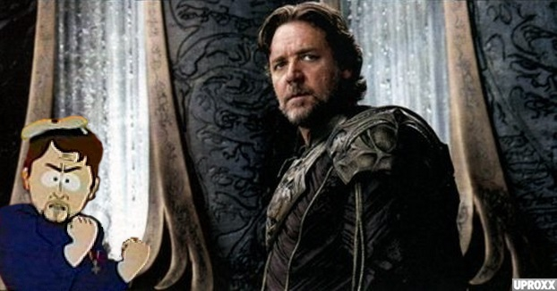Russell Crowe In 'Man Of Steel' Clip, Michael Shannon Sings Bon Jovi