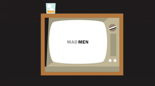 Here Are The Opening Credits To 'Mad Men' Made Even More 60s