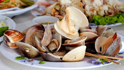 Boil or Steam Vegetables or Shellfish