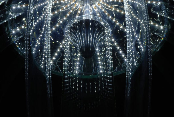 This Stunning Chandelier Looks Like A Deep Sea Creature