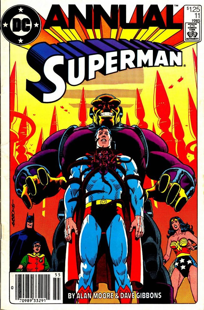 The Superman annual