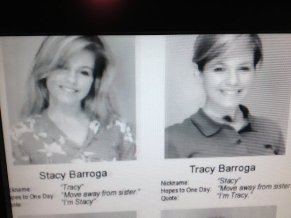 Stacy or Tracy?