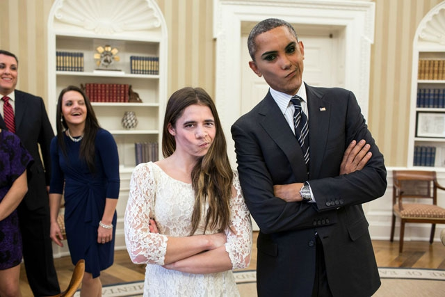 Obama And McKayla Maroney