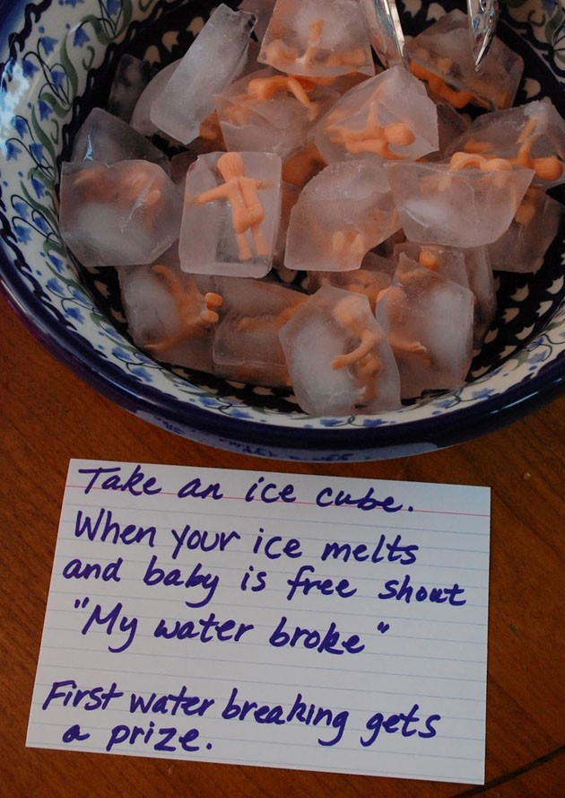 Baby Ice cubes? Terrible Idea