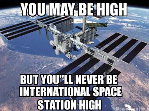 Never Higher than ISS