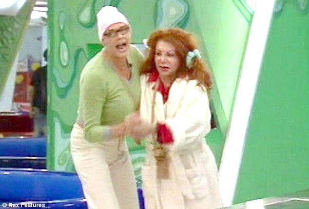 Jackie famously came face to face with her son's ex-wife Brigitte Nielsen in the 2005 series of Big Brother
