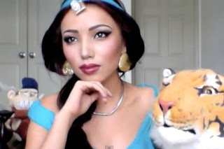 Promise as Princess Jasmine