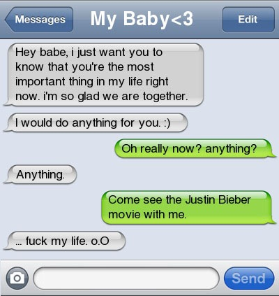 21 Ultra Hilarious & Awkward Text Conversations Made on iPhone