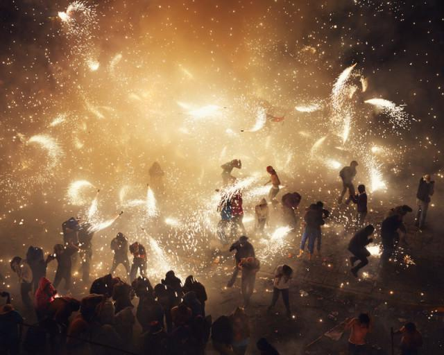 National Pyrotechnic Festival in Tultepec, Mexico