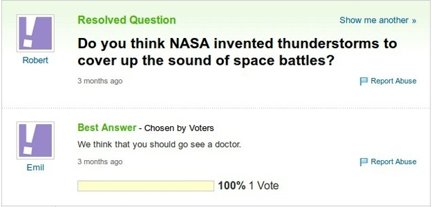 21 Yahoo Answers That Are Too Clever For Their Own Good