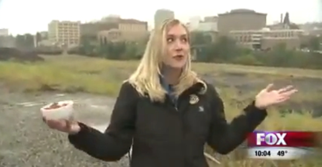 Reporter 'Can't Even F*cking Talk' During Live Report