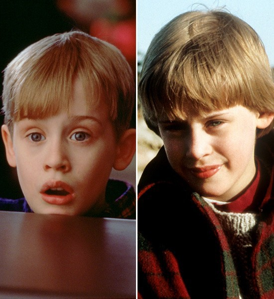 Macaulay Culkin  Home Alone -> The Good Son