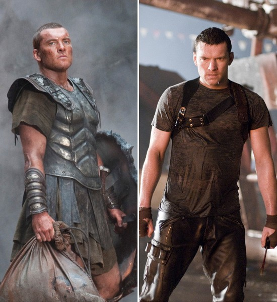 Sam Worthington  Clash of the Titans -> Terminator: Salvation
