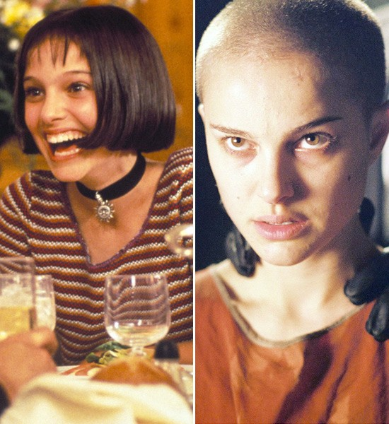 Natalie Portman  Leon: The Professional -> V For Vendetta