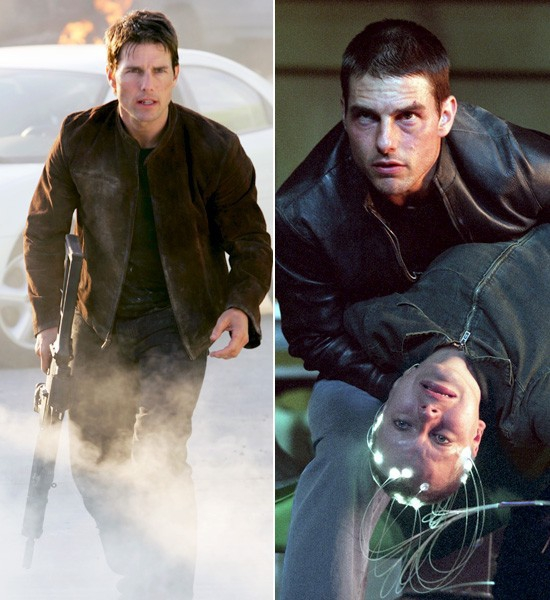 Tom Cruise  Mission Impossible -> Minority Report