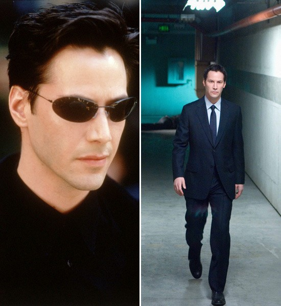 Keanu Reeves  The Matrix -> The Day the Earth Stood Still