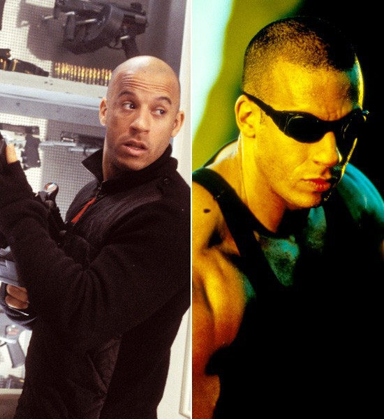 Vin Diesel    xXx -> Pitch Black