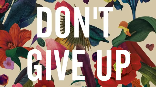 The Lyric Video For 'Don't Give Up' By Washed Out Is Chill As Hell