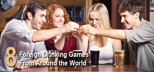 8 Fun Foreign Drinking Games