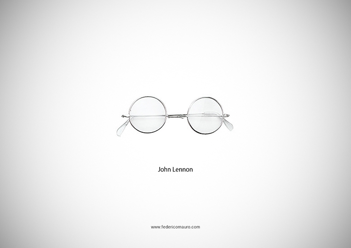 Iconic Eyeglasses Perfectly Symbolize Famous Personalities