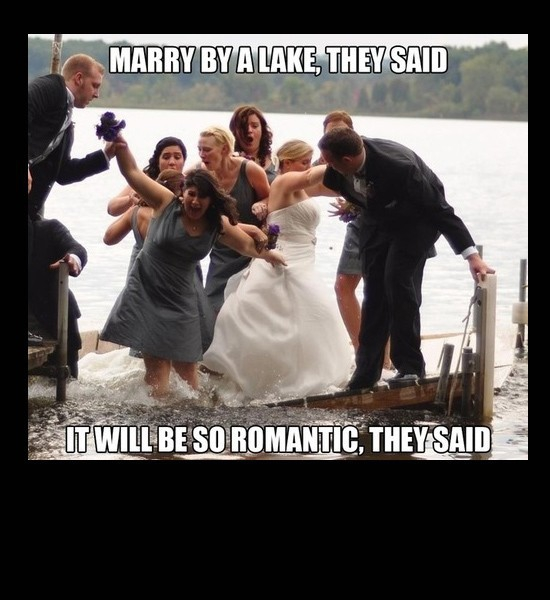 Marriage at the lake