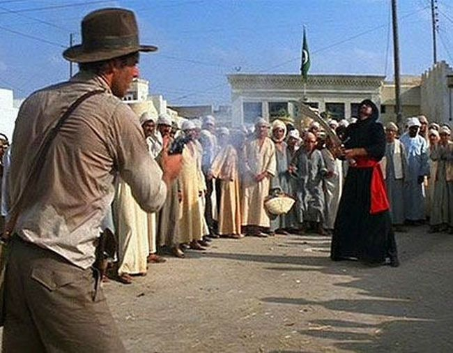 Gun vs. Sword: Raiders of the Lost Ark (1981)