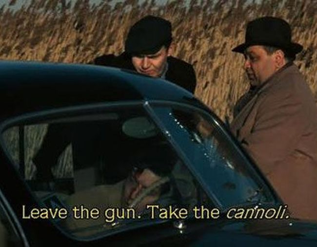Take the Cannoli: The Godfather (1972)