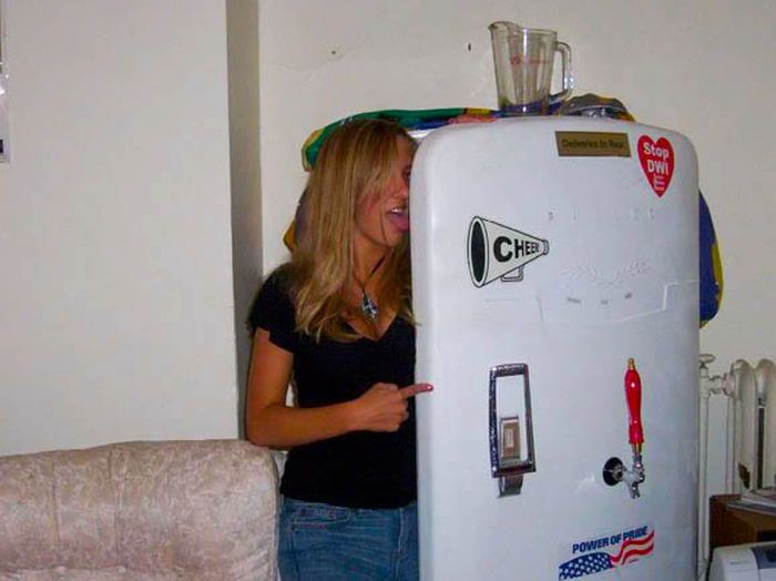 Hot Girls And Fridges