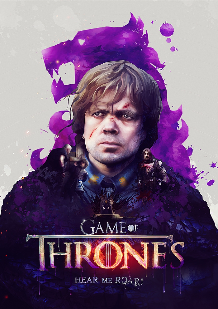Gorgeous Game of Thrones Posters by Adam Spizak