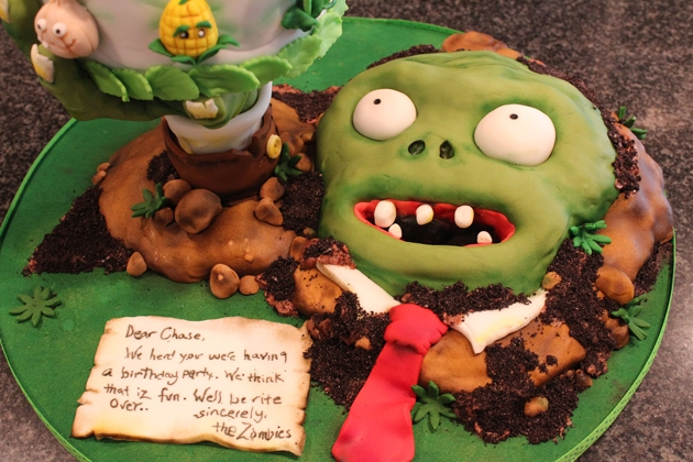 Ok, best Zombie cake I've seen all day