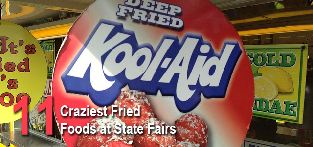 11 Crazy Deep Fried Fair Foods