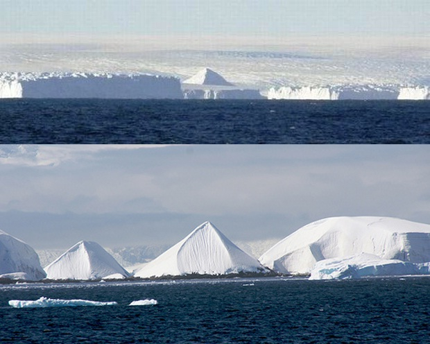 Mysterious Three Ancient Pyramids Found on Antarctica [video]