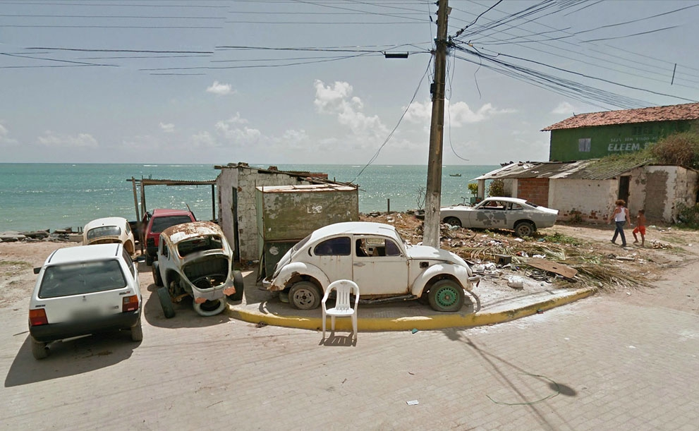 Where Google Street View Ends