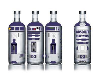 Light Up Your Party with Star Wars Alcohol!