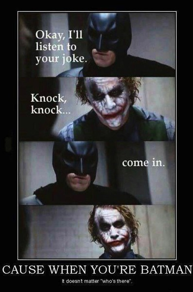 Knock Knock, Batman!