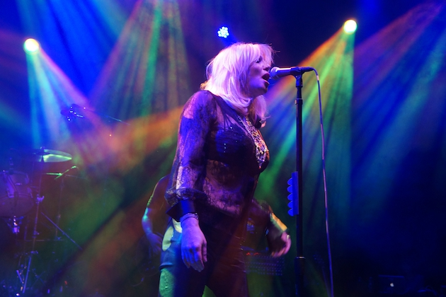 Courtney Love Gets Intimate With Fans at Gig in Port Chester, NY