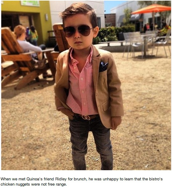 Pinterest account makes fun of parents who dress their kids cool