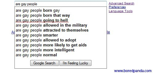 50 Strange and Funny Google Suggestions