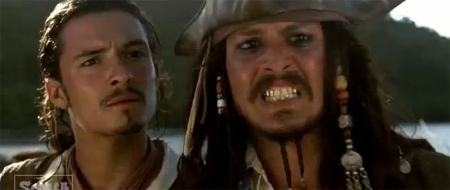Movie Supercut: Johnny Depp making silly faces, a mash-up