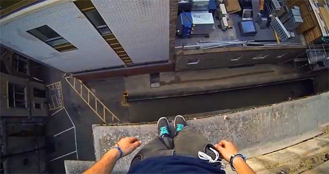 Don't Look Down: Real Parkour Video Is Close To 'Mirror's Edge' Game