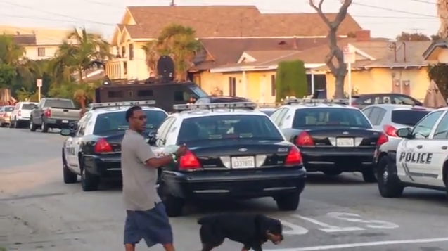 TRENDING NEWS: Police In Hawthorne, Ca Arrest A Man And Shoot His Dog