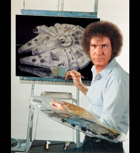 Harrison Ford, Star Wars Painting