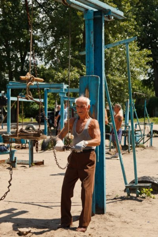 This Ukrainian Outdoor Gym Is Made From Scrap Metal